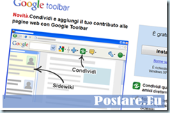 Rimuovere Google Toolbar