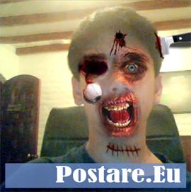 Halloween: fotomontaggi, diventa uno zombie!