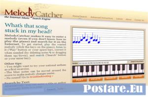 Trovare titolo canzone suonando le note musicali su tastiera
