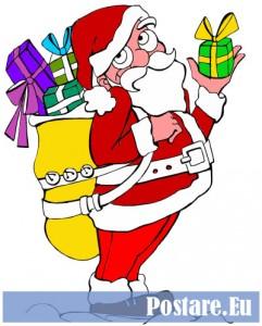 Disegni da colorare per Natale dai bambini