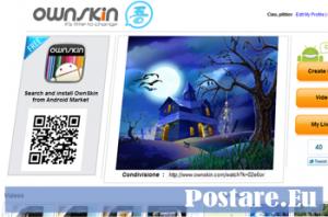 OwnSkin: Scaricare o Creare Temi gratis per cellulari