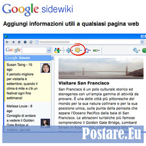 Sidewiki: un modo veloce per conoscere la qualità di un sito