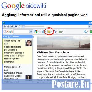 sidewiki di google toolbar